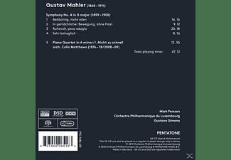 Gustavo Gimeno - Sinfonie 4/Klavierquartett  - (SACD)