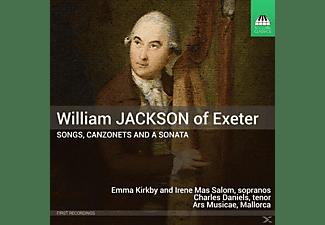 Kirkby,E./Mas Salom,I./Daniels,Ch./Ars Musicae - Songs,Canzonets & a Sonatas  - (CD)