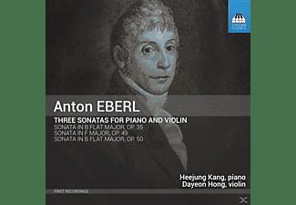 Heejung Kang, Hong Dayeon - Drei Sonaten für Klavier und Violine  - (CD)