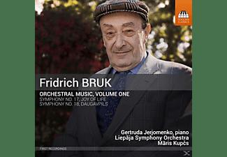 Maris/liepaja Symphony Orchestra Kupcs - Orchesterwerke Vol.1  - (CD)
