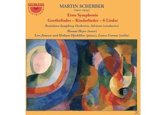 Heyer/Jönsson/Djeddikar/Adriano/Bratislava SO/+ - Erste Symponie/Goethelieder/Kinderlieder/+  - (CD)