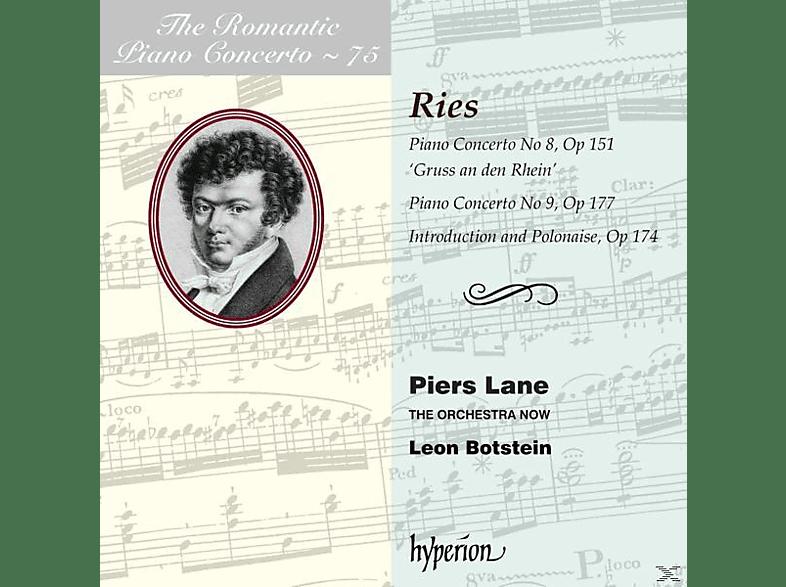 Lane Piers - Romantic Piano Concerto Vol.75 [CD]