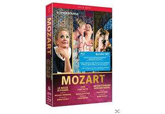 VARIOUS - Le Nozze di Figaro/Cosi fan Tutte/Entführung  - (Blu-ray)