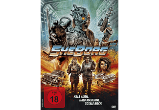 SheBorg - Halb Alien. Halb Maschine. Totale Bitch. - (DVD)