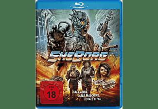 SheBorg - Halb Alien. Halb Maschine. Totale Bitch. Blu-ray