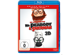 Die Abenteuer von Mr. Peabody & Sherman 3D Blu-ray (+2D)