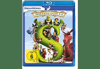 Shrek 1-4 - Die Komplette Shrekologie Blu-ray