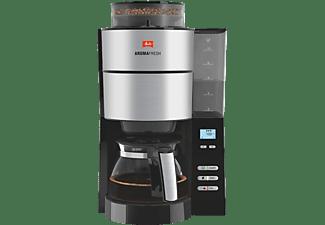 MELITTA 1021-01 AromaFresh Filterkaffeemaschine  Schwarz/Edelstahl