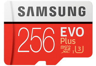 SAMSUNG Carte mémoire microSDXC EVO Plus 256 GB (MB-MC256GA/EU)