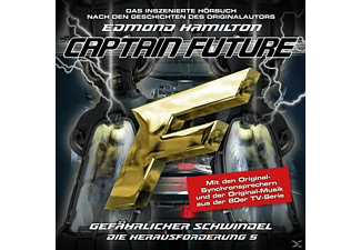 Captain Future: Die Herausforderung-Folge 05 - 1 CD - Science Fiction/Fantasy