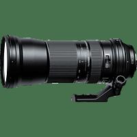 TAMRON SP 150 mm - 600 mm f/5-6.3 Di, SP, USD (Objektiv für Canon EF-Mount, Schwarz)