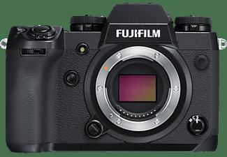 FUJIFILM X-H1 + VPB-XH1 Power Booster Systemkamera, 7,6 cm Display, WLAN