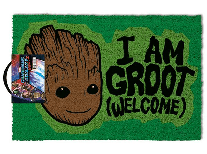 PYRAMID INTERNATIONAL Guardians of the Galaxy Vol. 2 Fußmatte I Am Groot Welcome Merchandise, Mehrfarbig