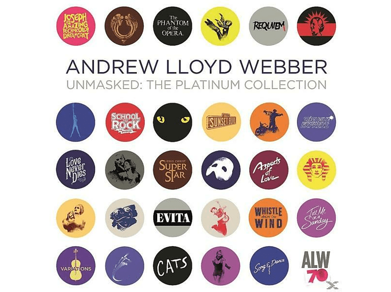 Andrew Lloyd Webber - Unmasked - The Platinum Collection [CD]