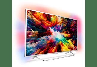 PHILIPS 65PUS7363 LED TV (Flat, 65 Zoll / 164 cm, UHD 4K, SMART TV, Ambilight, Android TV)