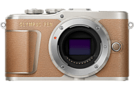 OLYMPUS PEN E-PL 9 Body Systemkamera 16.1 Megapixel mit Objektiv nur Gehäuse, 7,6 cm Display Touchscreen, WLAN
