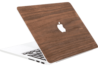 WOODCESSORIES EcoSkin Notebooktasche, Backcover, 12 Zoll, Walnussholz, passend für: Apple MacBook