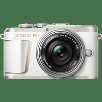 OLYMPUS PEN E-PL 9 Pancake Kit Systemkamera 16.1 Megapixel mit Objektiv 14-42 mm , 7.6 cm Display   Touchscreen, WLAN