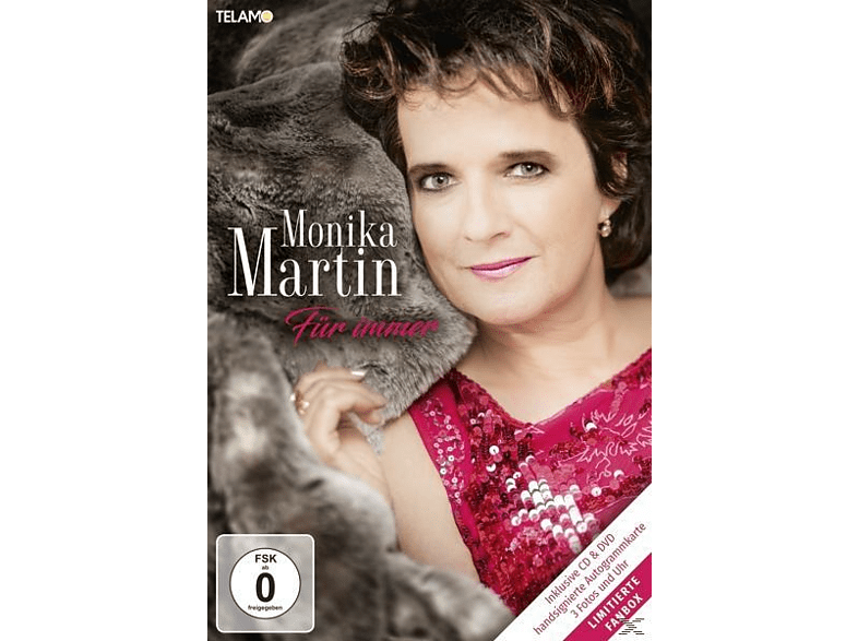 Monika Martin - Für immer (Fanbox) [CD + DVD Video]