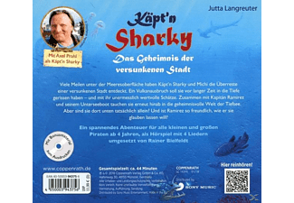 Käpt'n Sharky - Das Geheimnis der versunkenen Stadt  - (CD)