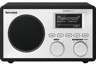 TECHNISAT DIGITRADIO 301 IR - Radio digitale (DAB+, FM, Internet radio, Nero)