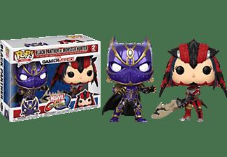 POP! Capcom/Marvel: Black Pan. vs. Mon. Hunter 2PK