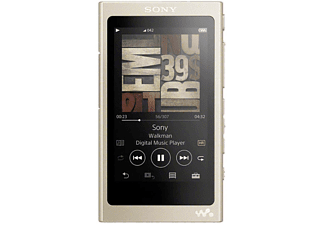 SONY MP3-speler Walkman Hi-res Audio 16 GB Goud (NWA45N.CEW)