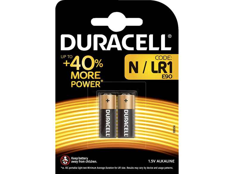 DURACELL Specialty Batterie, Schwarz/Kupfer