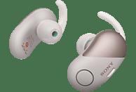 SONY WF-SP700N Earbuds, Ladeetui, In-ear Kopfhörer Bluetooth Pink