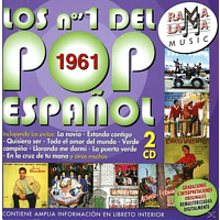 VARIOUS - 1961 - Los Nos. 1 del Pop Espanol [CD]