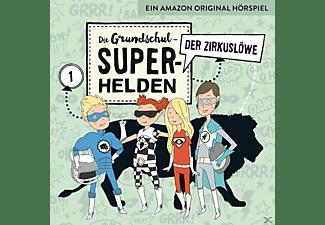 Die Grundschul-superhelden - 01: Der Zirkuslöwe  - (CD)
