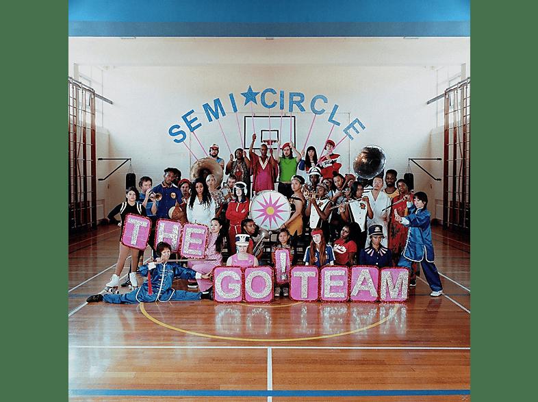 The Go Team - Semicircle (Ltd. Neon Pink Vinyl LP) [LP + Download]