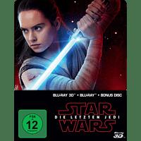 Star Wars: Die letzten Jedi (2D & 3D Steelbook Edition) Limited 3D Blu-ray (+2D)