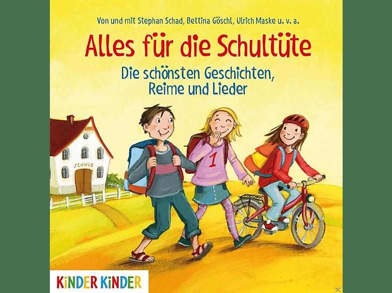 VARIOUS - Alles Für Die Schultüte.Die Schönsten Geschichten - (CD)