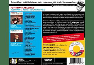 Johnny Hallyday - Hello Johnny+Nous Les Gars,Nous Les Filles+8  - (CD)