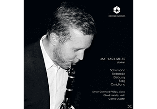 Kjöller/Crawford-Philips/Hanslip/Callino Quartet - Mathias Kjöller,Clarinet  - (CD)
