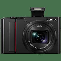 PANASONIC Lumix DC-TZ202 LEICA Digitalkamera Schwarz, 15x opt. Zoom, TFT-LC, WLAN