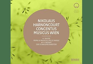 VARIOUS, Concentus Musicus Wien - Prima la Musica e Poi le Parole / Der Schauspieldirektor  - (CD)