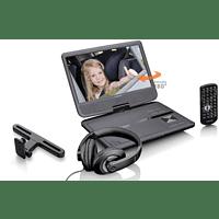 LENCO DVP-1010BK Tragbarer DVD-Player, Schwarz