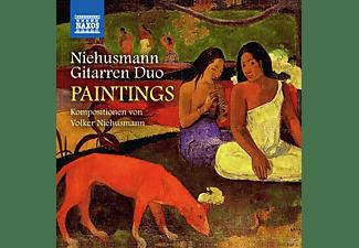 Niehusmann Gitarren Duo - Paintings  - (CD)