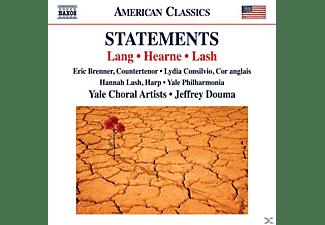 Brenner/Consilvio/Lash/YDouma/Yale Philharmonia - Statements  - (CD)