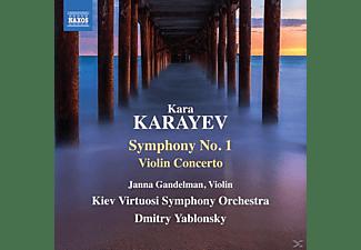 Dmitry/kiev Virtuosi So Yablonsky - Sinfonie 1/Violinkonzert  - (CD)