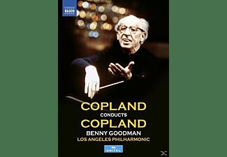 Benny Goodman, Los Angeles Philharmonic Orchestra, Los Angeles Master Chorale - Copland dirigiert Copland  - (DVD)