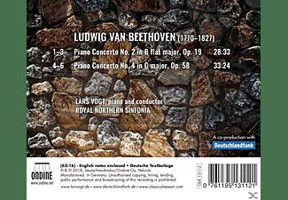 Lars/royal Northern Sinfonia Vogt - Klavierkonzerte 2 & 4  - (CD)