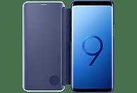 SAMSUNG Clear View Standing , Bookcover, Samsung, Galaxy S9, Blau