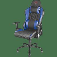 TRUST GXT707B Gaming Stuhl, Schwarz/Blau