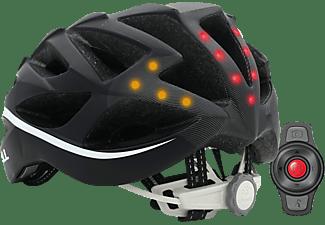 LIVALL Livall BH 62, Der Rennradhelm für smarte Köpfe (Smarter Fahrradhelm, 55-61 cm, Schwarz/Weiß)