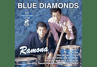 Blue Diamonds - Ramona-50 internationale Erfolge  - (CD)