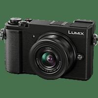 PANASONIC LUMIX GX9 Kit Systemkamera mit Objektiv 12-32 mm f/5.6, 7,5 cm Display, WLAN