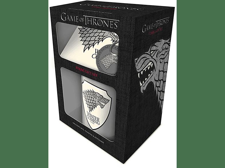 PYRAMID INTERNATIONAL Game of Thrones Geschenkset Stark Merchandise, Mehrfarbig